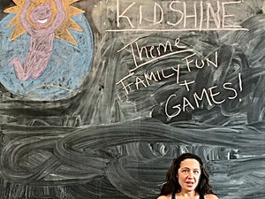 kidSHINE Bootcamp Inspired Family Fitness Fun! Four Easy Exercise Games for Home