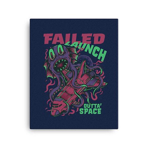 Failed Launch Canvas