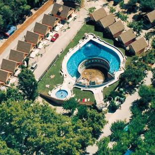 ariel pool view