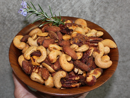 Rosemary and Cayenne Mixed Nuts