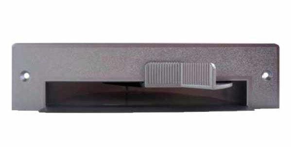 Trappe aspirante blanche pour plinthe vacpan ASPIRATION drainvac PR23125