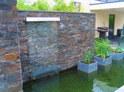 waterspel met glasplaat