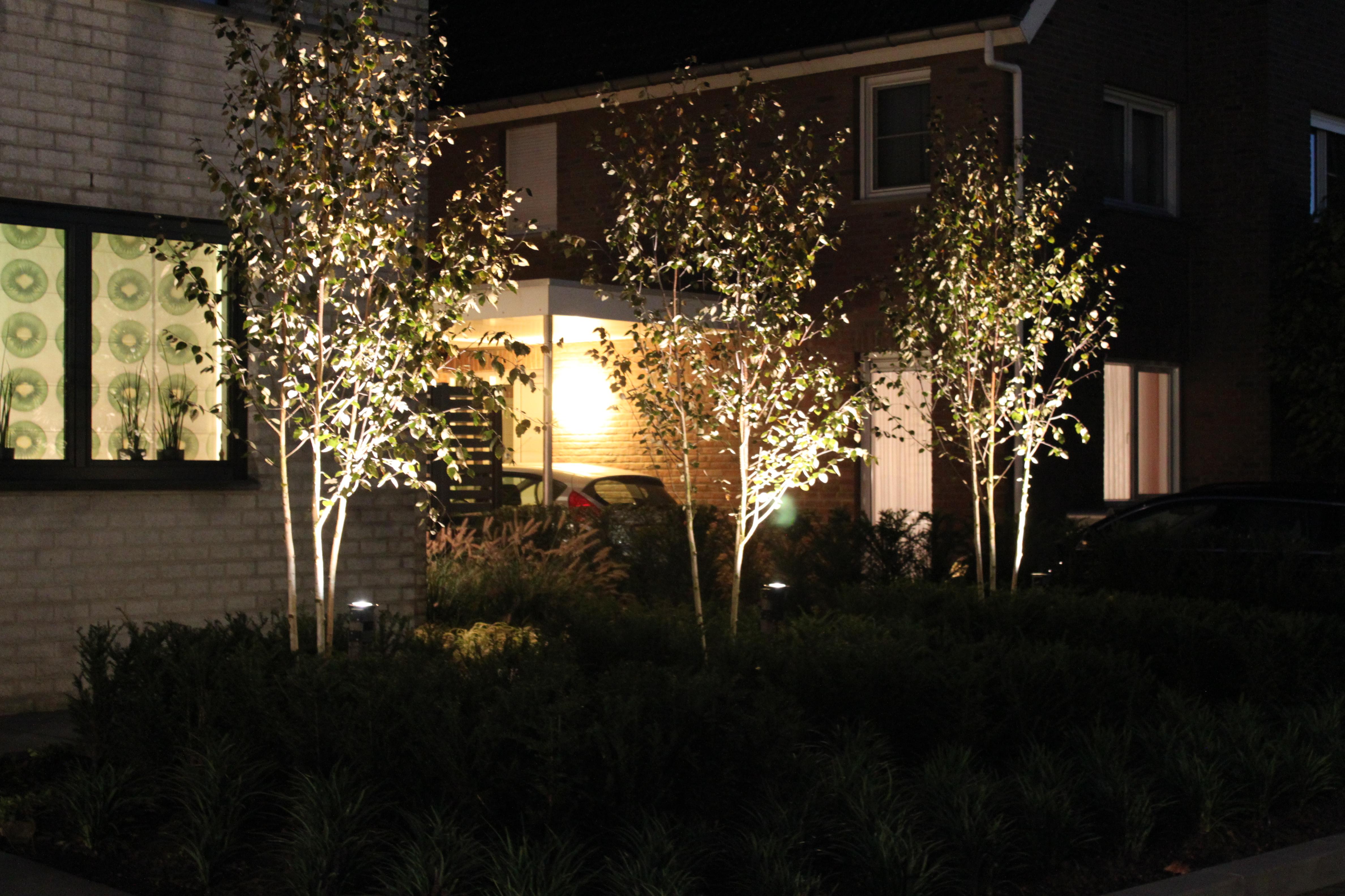 Moderne tuinverlichting