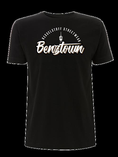 """Shirt - """"Benztown"""" - Schwarz"""