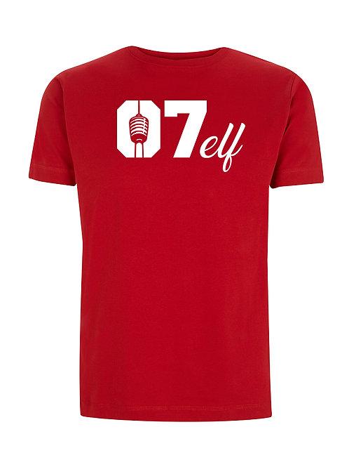 """Shirt - """"07elf"""" - Rot"""