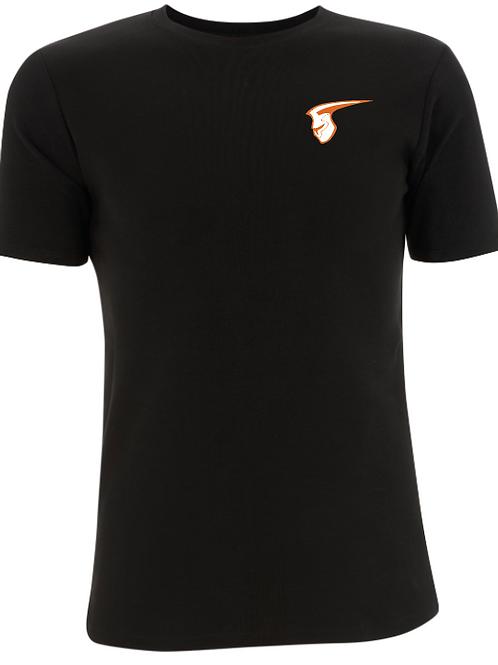 Fellbach Warriors - Shirt - Schwarz - Logo Helm Brust