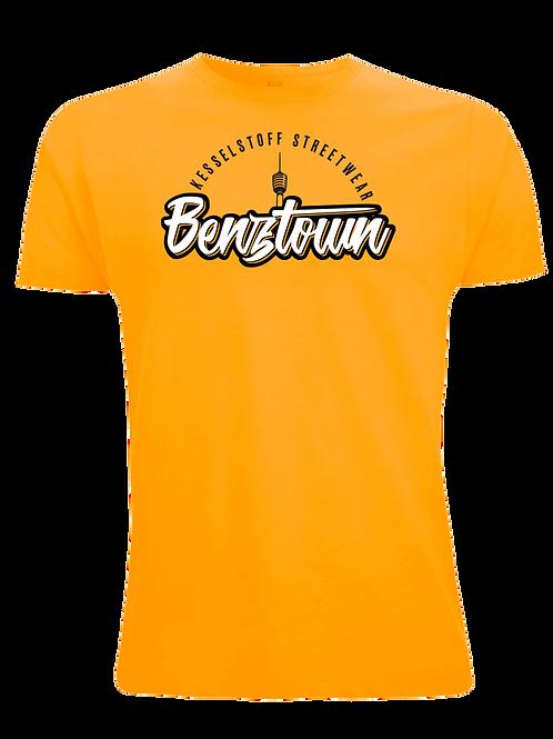 """Shirt - """"Benztown"""" - Gold"""