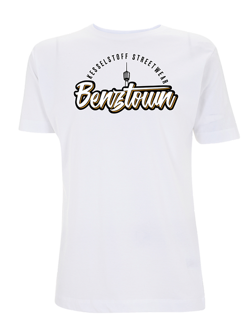 """Shirt - """"Benztown"""" -Weiß"""