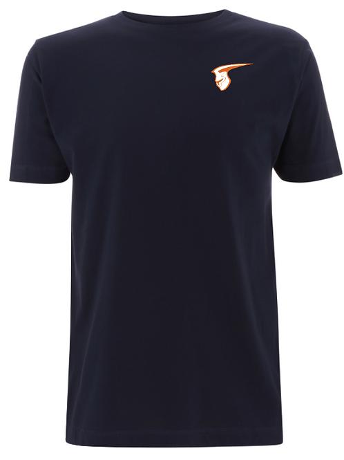 Fellbach Warriors - Shirt - Navy - Logo Helm Brust