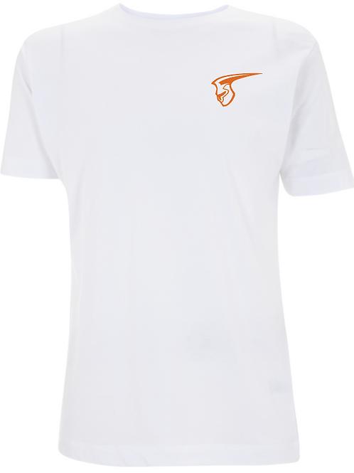 Fellbach Warriors - Shirt - Weiß - Logo Helm Brust