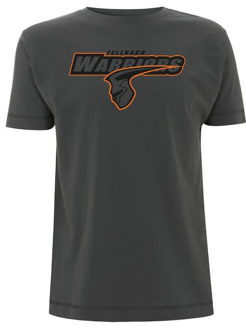 Fellbach Warriors - Shirt - Ash Black - Logo Groß