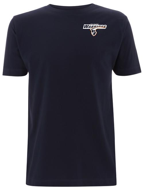 Fellbach Warriors - Shirt - Navy - Logo Brust