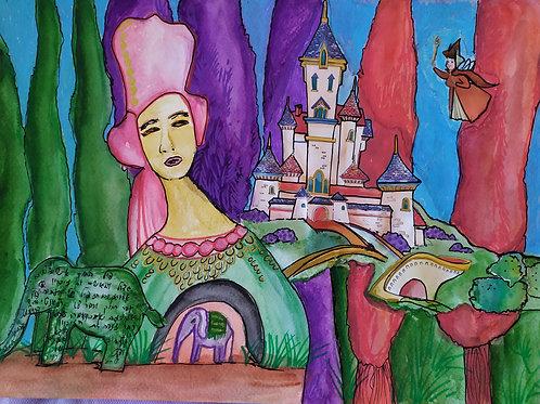 ארמון הנסיכה- קולאז
