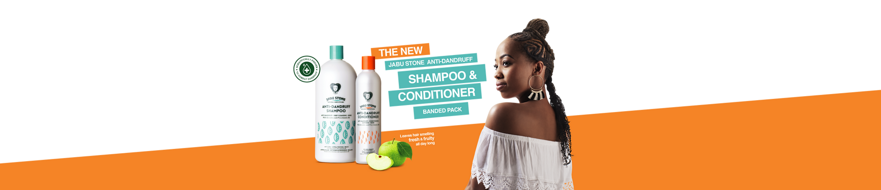 Jabu Stone Shampoo and Conditioner Promo