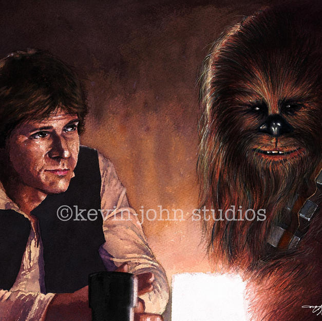 Han & Chewbacca Cantina