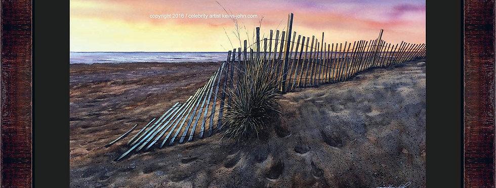 Cool Sand Framed Giclee