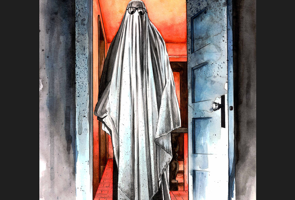 Myers Ghost Matted Print