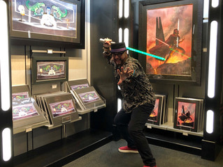 KJ Star Wars Art Signing Event at Disney