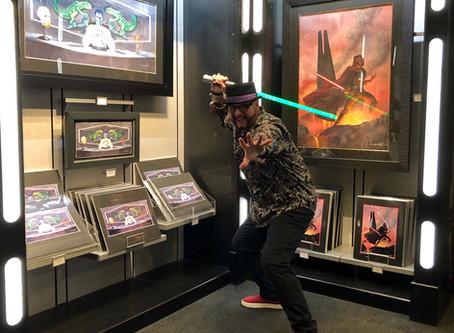 KJ Star Wars Art Signing Event at Disney