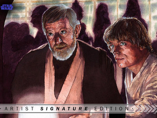 Topps Star Wars Releases First KJ Art Set