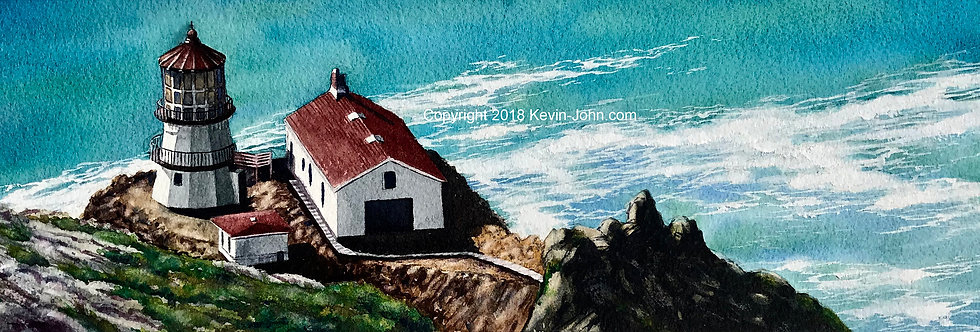 Point Reyes Lighthouse Original Painting
