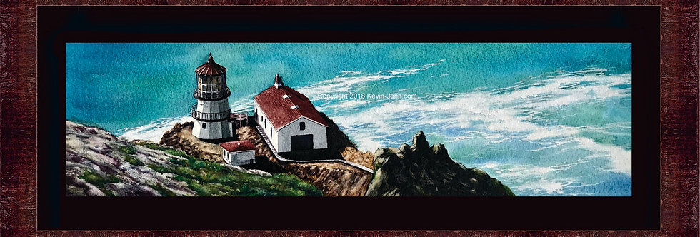 Point Reyes Lighthouse LE Framed Giclee