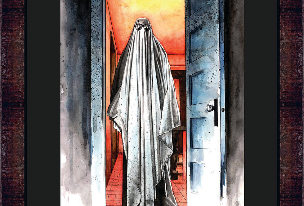 Myers Ghost Framed Giclee