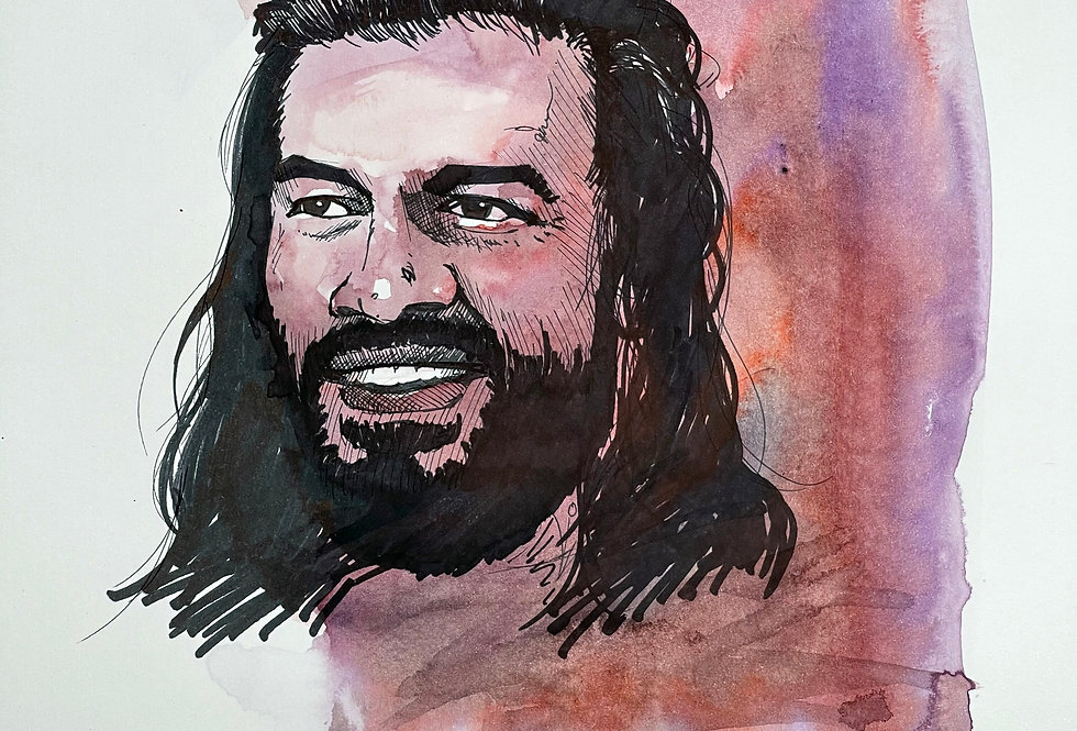 TOPPS DIGITAL WWE SKETCH 4