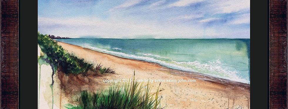 Paradise Beach Framed Giclee