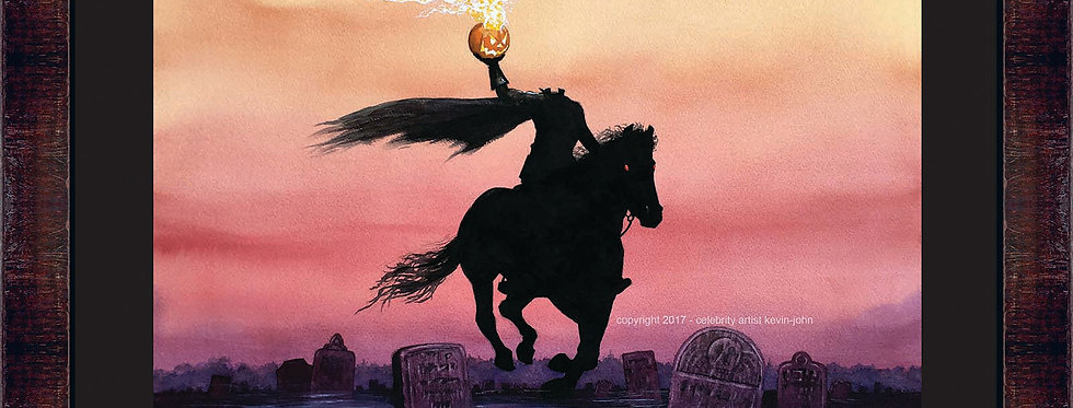 Headless Horseman Framed Giclee
