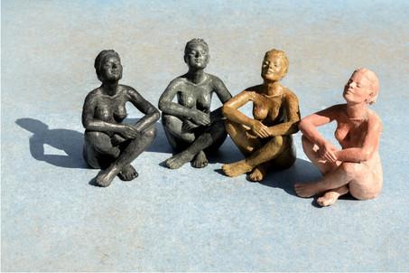 Sculptures Béatitudes au soleil