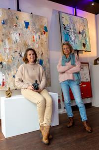 Sophie de Fournas et Laurence Moracchini
