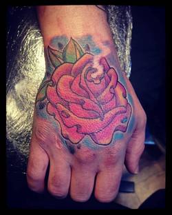 Rose newschool hand