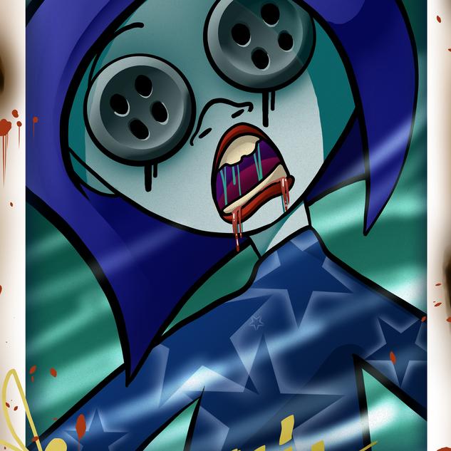 Coraline selfie !