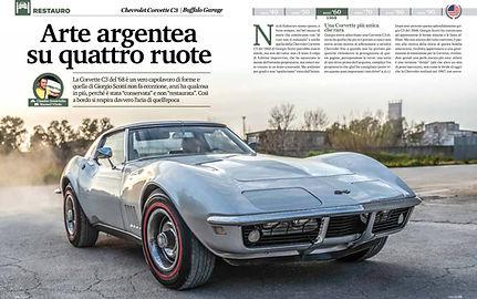 Test Corvette C3 1968 - Elaborare Classic luglio/agosto 2019