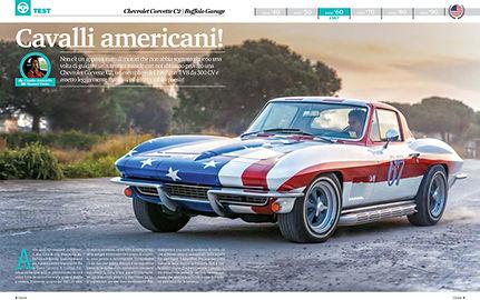 Test Corvette C2 1967 - Elaborare aprile 2019