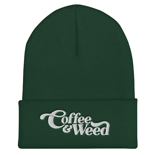 Coffee & Weed Beanie