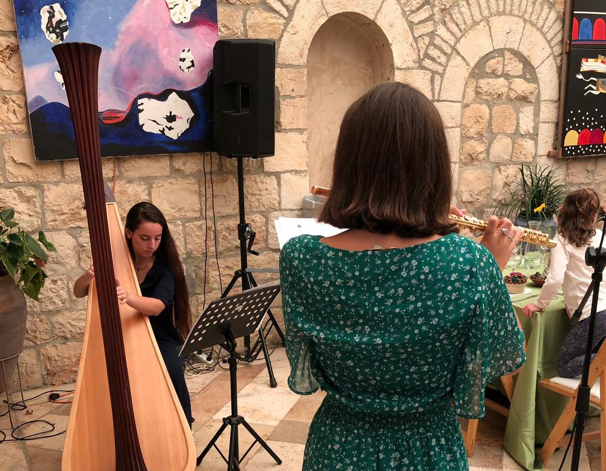 Concert at Harp of David