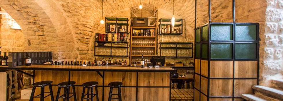 Wine Temple's intimate atmosphere