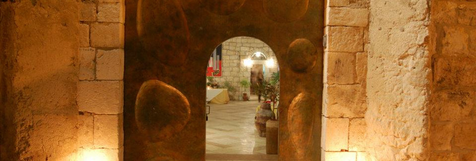 Entrance of Harp of David, Zion Gate, Jerusalem