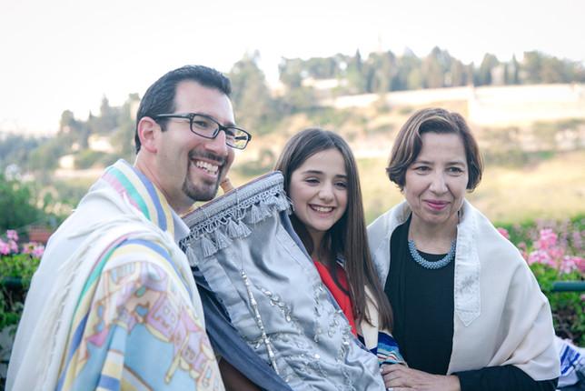 Rabbi Ada Zavidov & Cantor Evan Cohen at Bat Mitzvah