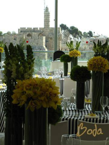 Old City view from Event in Beit Shmuel
