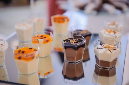 Gorgeous desserts at Cezanne's Beit Shmuel