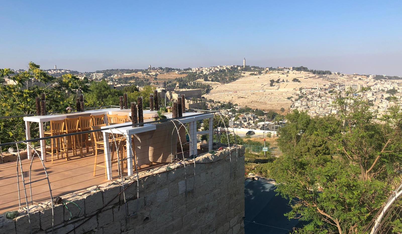 Roof at Harp of David