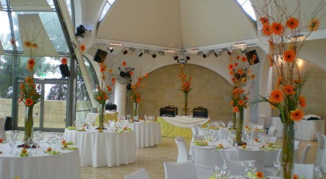 Beit Shmuel Blaustein Hall interior