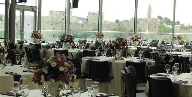 Beit Shmuel set up for event