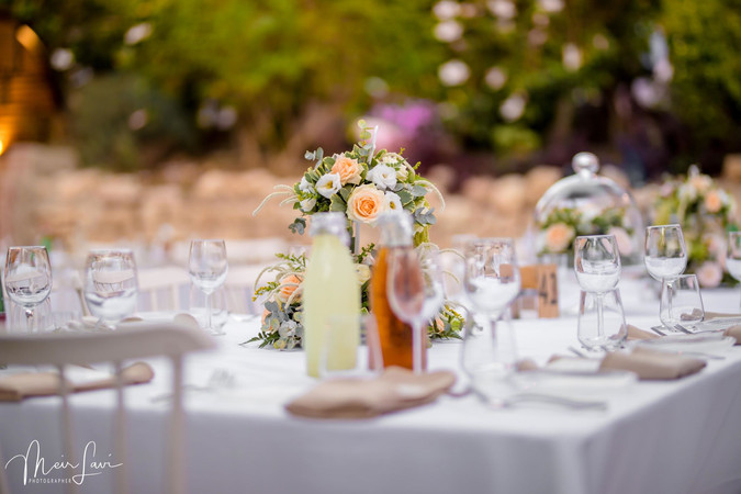 Wedding Table in Israel