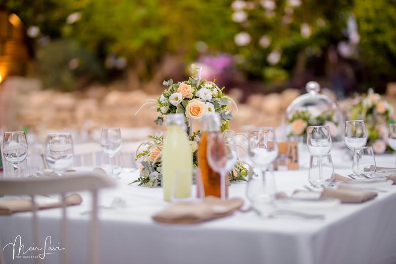 Wedding Table in Israel