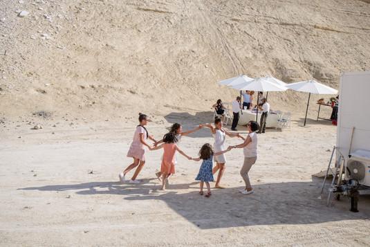 Horah Dance in the Desert