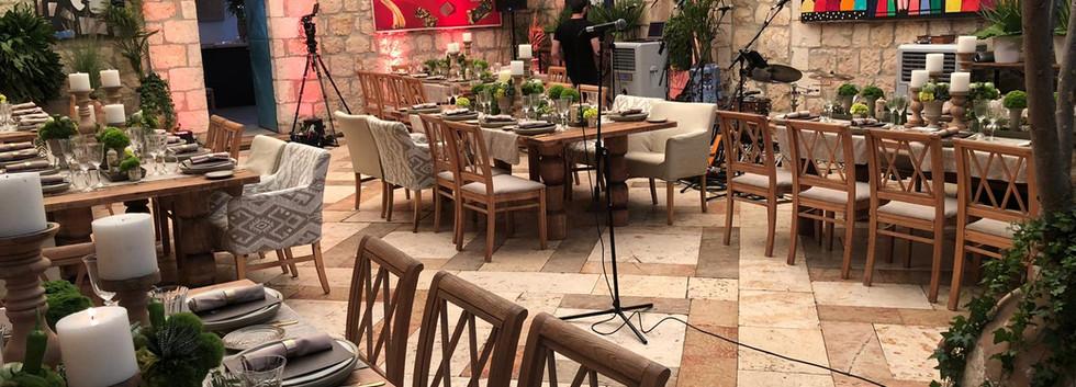 Event Setup at Harp of David